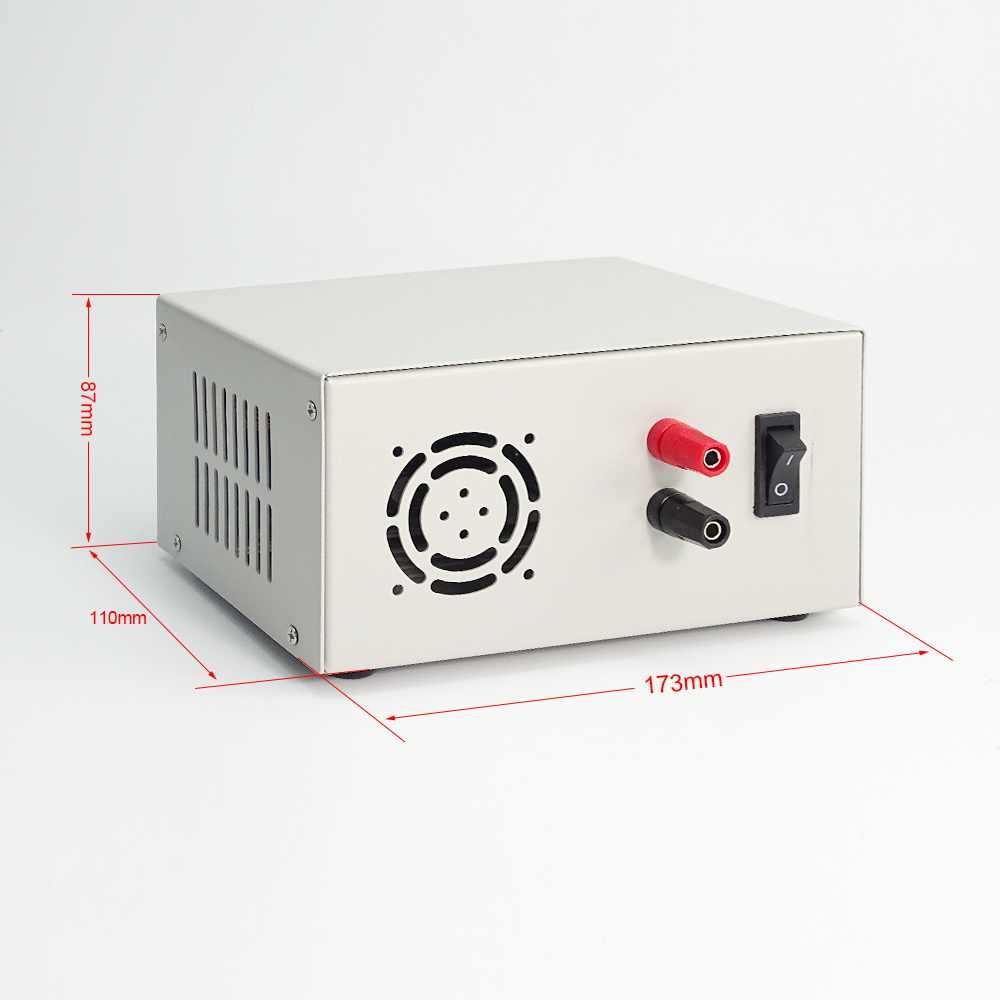 Чехол для цифрового источника питания S12A S12D 800 Вт переключатель питания для RD6012(W) только металлический корпус корпуса не содержит источник питания bb