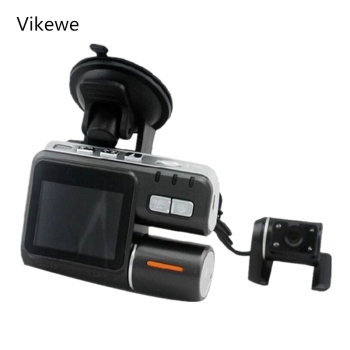 "2.0"" Car DVR Camera Dual Lens Rearview Mirror Video Recorder FHD 1080P Automobile LCD Dash Cam Auto Motor Dashcam Camcorder"