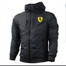 2021 new brand spring and autumn high street zipper jacket printed sports jacket men's Harajuku windbreaker jacket rainproof