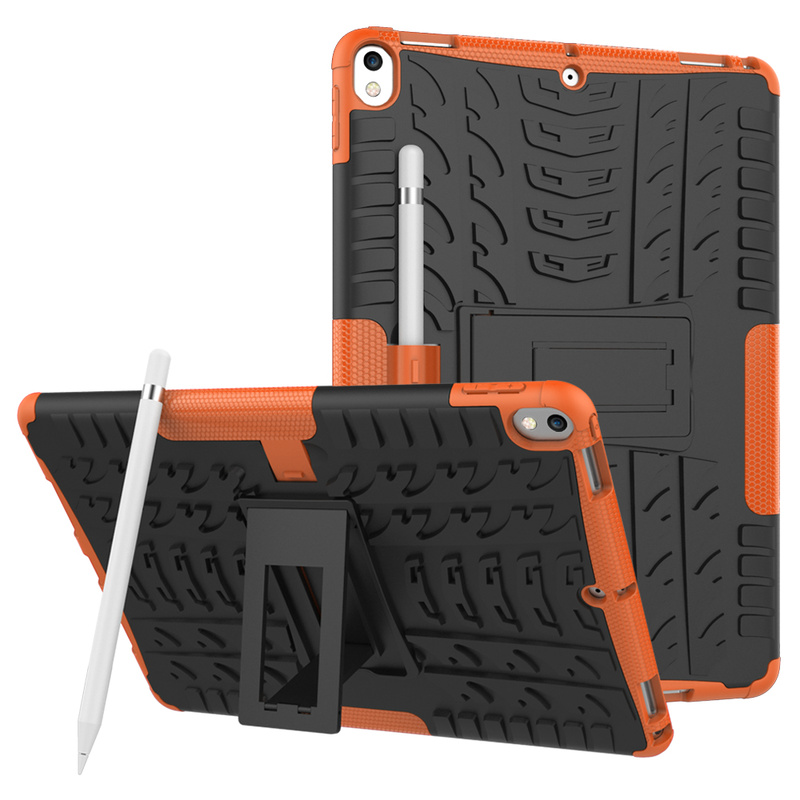 """Чехол для iPad 10,5 """"с карандашом для iPad Air 3 2019 A2123 A2153 A2152, чехол из ТПУ + ПК с подставкой, противоударный защитный Противоскользящий чехол"""