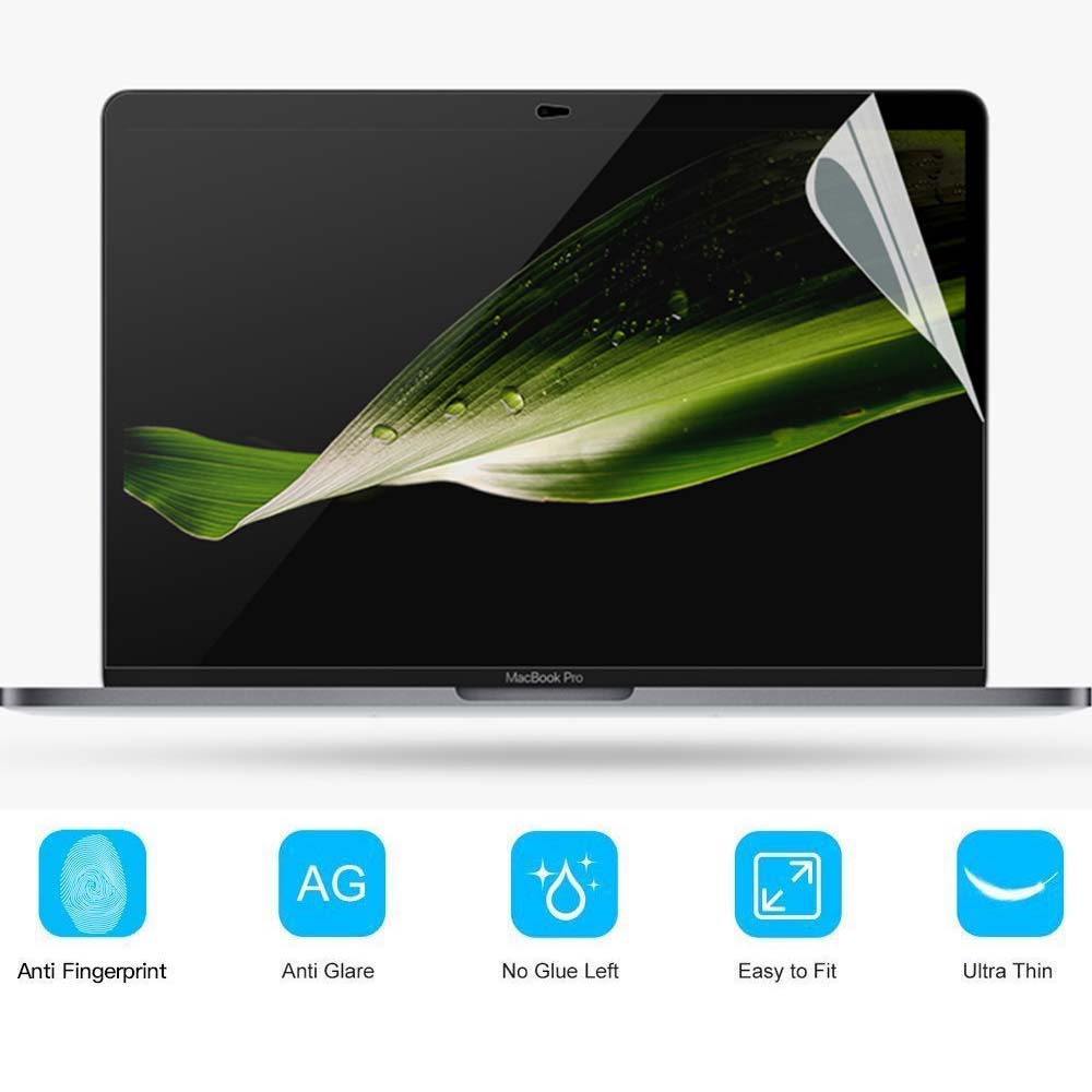 KK&LL For Apple Macbook New Air 13 Inch A1932/ Pro 13 A1708 Touch Bar A1706 A1989 Crystal  Lcd Guard Film Screen Film Protector
