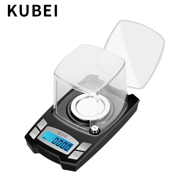 KUBEI précision balance électronique 0.001g haute précision bijoux échelle or bijoux Instrument de pesage électronique Digita balance - 3