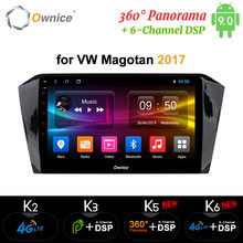 "Ownice k3 k5 k6 10.1"" Car DVD Player Octa 8 Core Android9.0 GPS For Volkswagen Golf 7 MK7 VII 2017 2din Radio 4G LTE DSP Optical(China)"