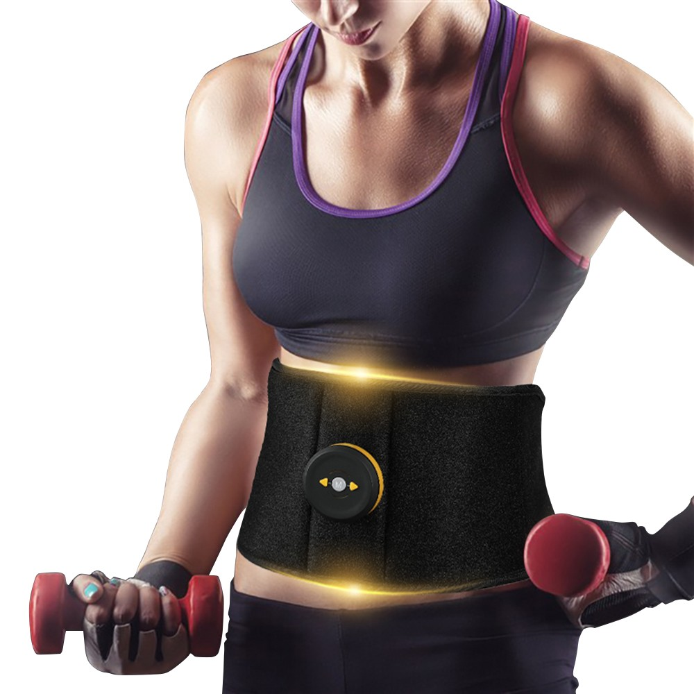 Abdominal Muscle Trainer Waist Belly Muscle Stimulator Muscle Strength Machine Body Slimming Shaper Massager Exercise Machine