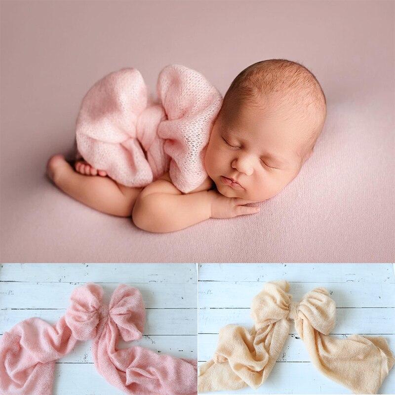 2021 Новое платье с бантом на поясе для новорожденных Подставки для фотографий аксессуары для маленьких мальчиков девочка позу пояс с бабочк...