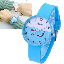 2019 kid fashion quartz watches children lovely cartoon wristwatch gift for boy girl clock