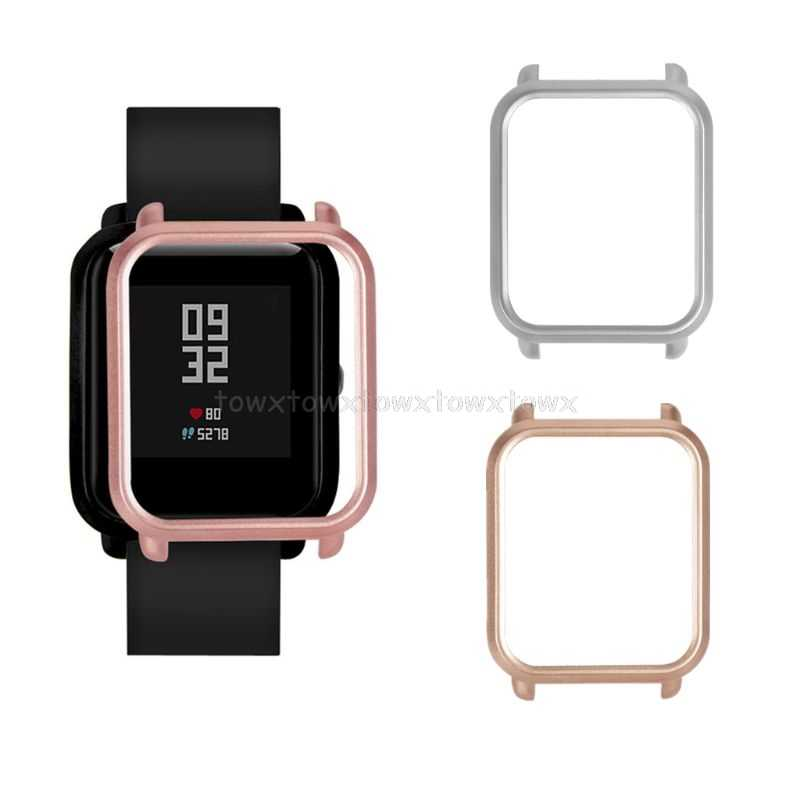 PC Case Beschermhoes Protector Frame Shell Vervanging voor Huami Amazfit Bip Jeugd Smart Horloge Accessoires S11 19 Dropship