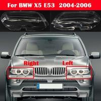 Car Waterproof Headlamp Headlight Lamp cover Lampshade Bright Lamp Shade Shell Cap For BMW X5 E53 2004 2005 2006