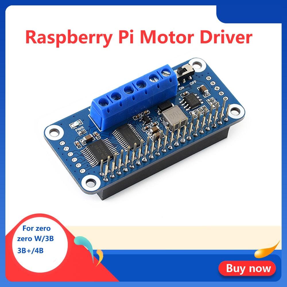 Raspberry Pi Motor Driver HAT Controlled Via I2C Interface For Raspberry Pi Zero/Zero W/Zero WH RPI 3 Model B/B+