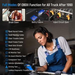Image 2 - FCAR F507 OBD2 Diagnostic Tools Erase Codes Reader Read ECU Engine ABS Transmission Heavy Duty Truck Free Update Car Scan Tool