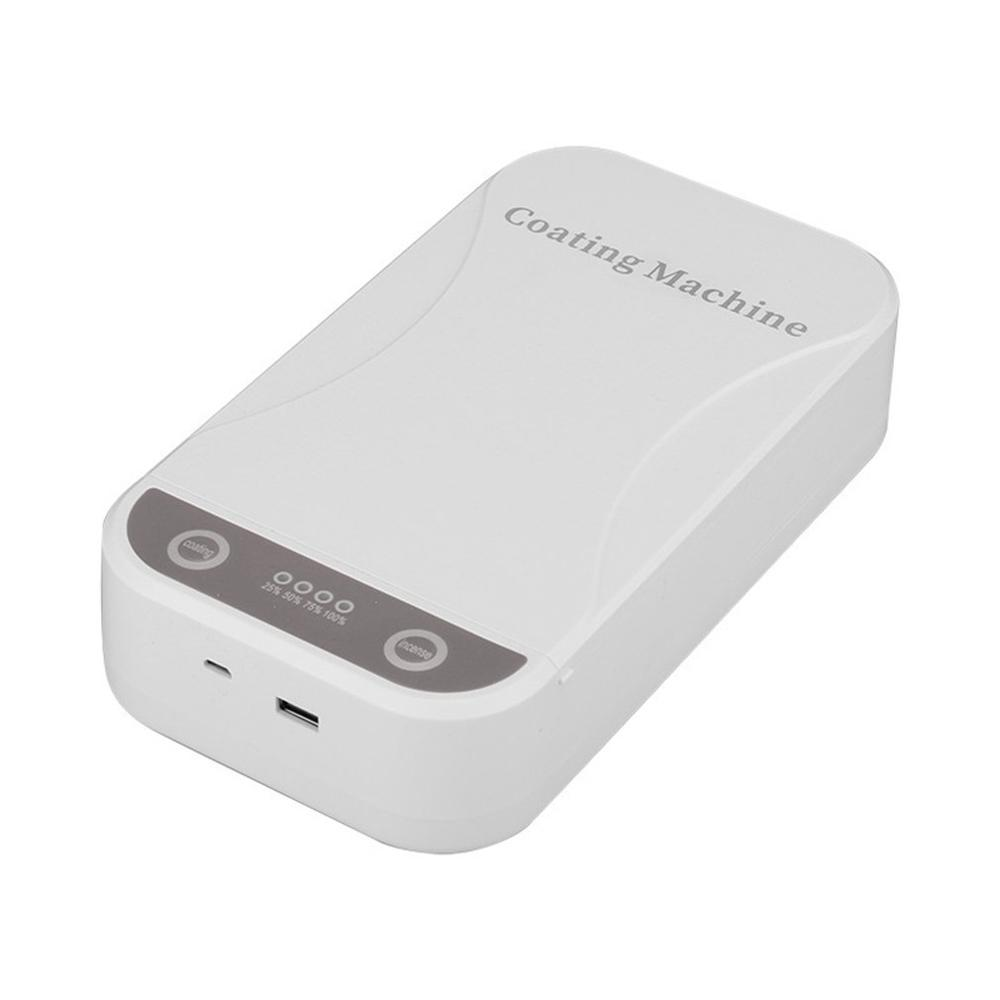 Uv Mobile Phone Sterilizer  Neutral Plastic Ultraviolet Disinfection Box Mask Sterilizer Small Uv Sterilization Cleaning