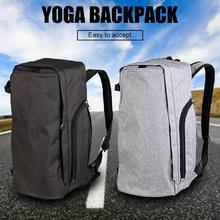 цены Polyester Large Capacity Portable Fitness Sports Backpack Ultralight Yoga Mats Bag Men Women Outdoor Fitness Bag Gym Handbag