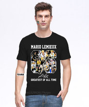 Mario Lemieux 66 Greatest Of All Time Signature Shirt