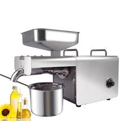 Automatische Kalt/Heißer Ölpresse Maschine mit Temperatur Control Haushalts Öl Extraktion Presser für Erdnuss Kokos Sesam