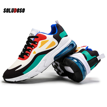2020 Mens Casual Shoes Fashion Male Sneakers Air Cushion Breathable Sports Running Shoes PU Mesh Tenis Masculino Adulto Men Shoe sneakers men mesh hollow sports shoes for male fashion walking jogging breathable summer shoes soft tenis masculino adulto