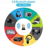 Adaptador USB Bluetooth 5,0 para PC, ordenador de escritorio, altavoz de auricular con Bluetooth, ratón, teclado, Dongle USB, receptor Bluetooth