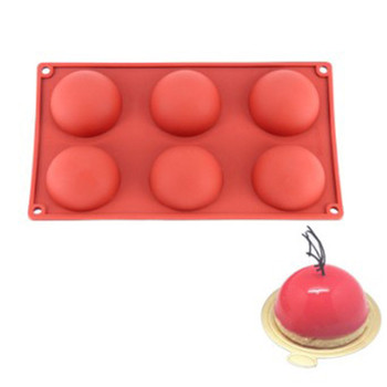 Ball Sphere silicone mold for chocolate baking round silicone cake pastry bakeware form pudding jello soap mold bread candy mold silicone pudding mold cake pastry baking round jelly gummy soap mini muffin mousse cake decoration tools bread biscuit mould