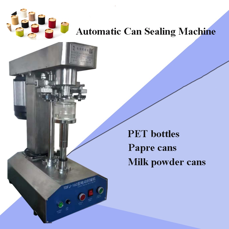 Stainless steel Semi-automatic Tinplate Can PET bottles Seamer Ring-pull Can Capping Machine automatic cans sealing machine