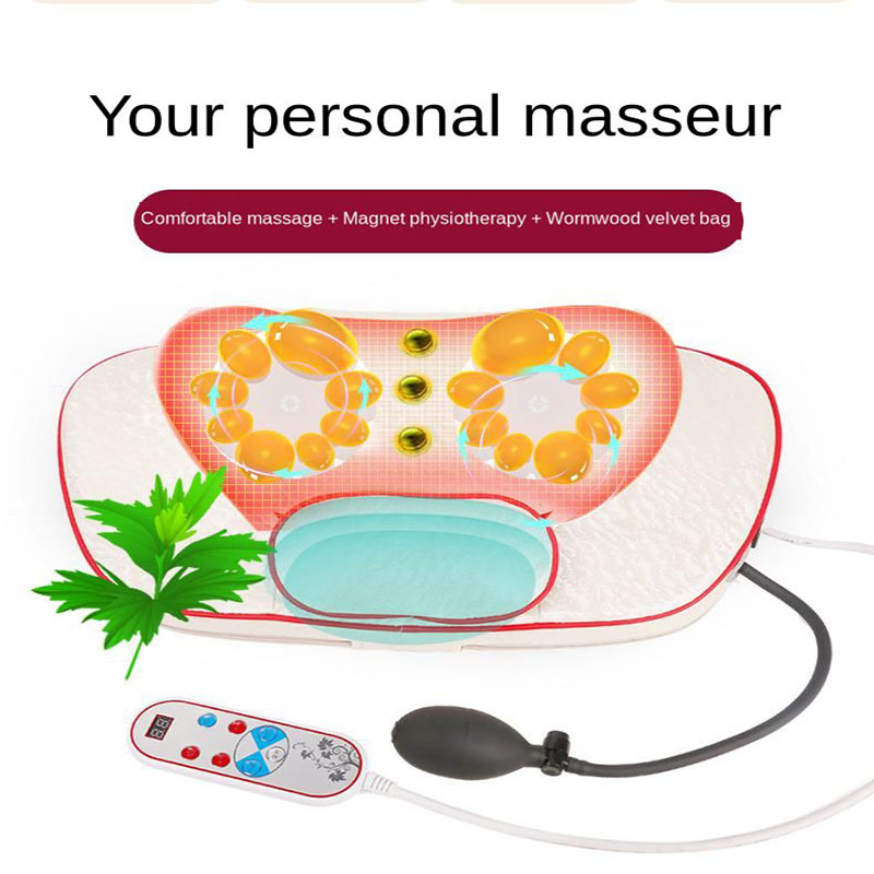 Multifunction Body Electric Neck Shoulder Waist Household Vibration Massage Pillow Neck Traction Pad Neck Support Instrument