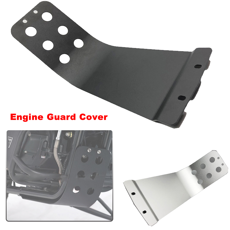 For Triumph Bonneville T100 T214 SE T120 Thruxton Scrambler 900 T100 110th Anniversary Engine Base Skid Plate Guard Cover image