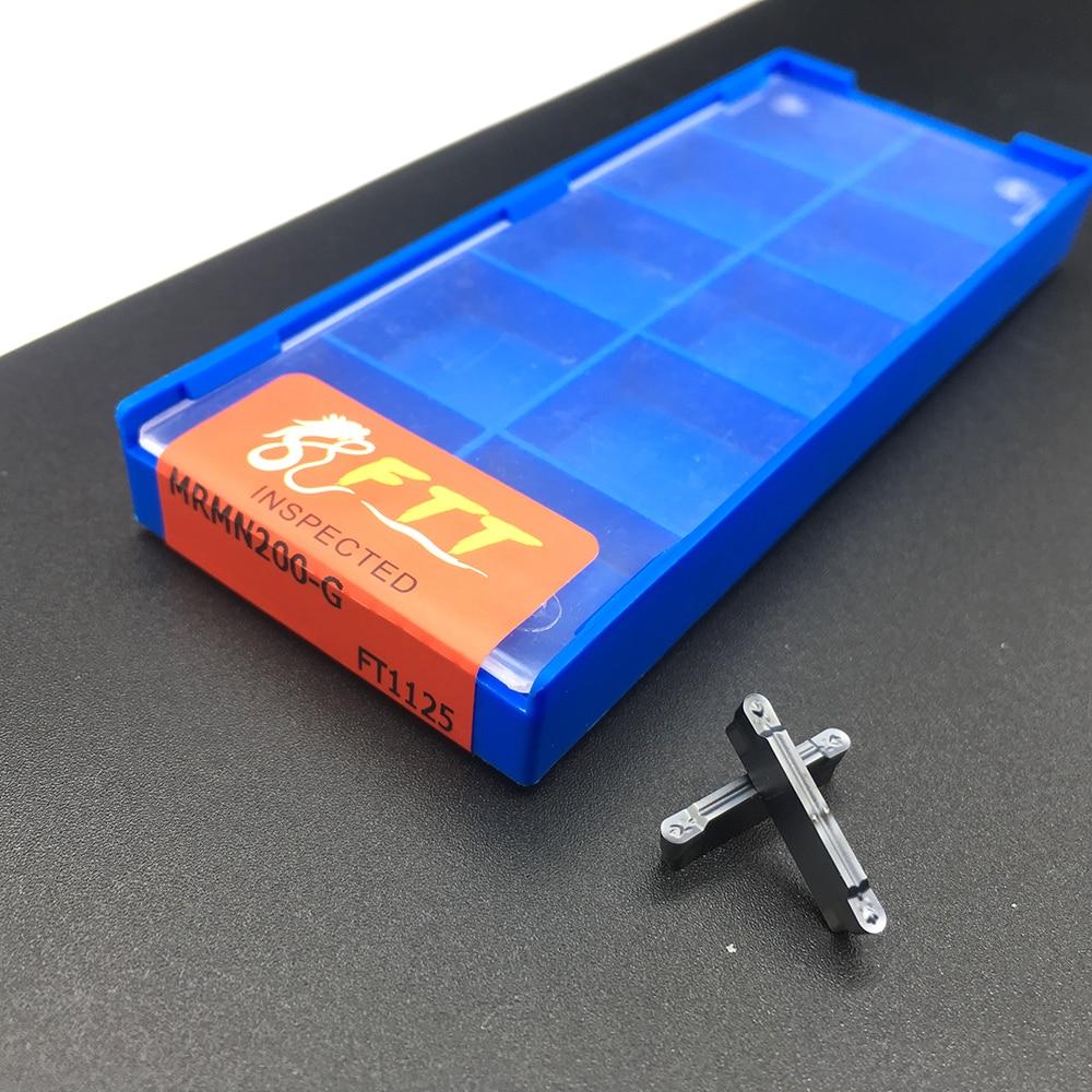 High Quality 10pcs MRMN200 G FT1125 Grooving Carbide Inserts Turning Tools CNC Metal Lathe Tools MRMN Grooving Inserts