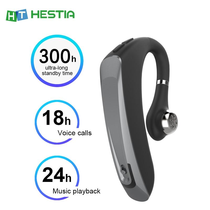 Wireless Headset Bluetooth 5 0 Earphone Audio Headset Earbuds Earphones Hands Free Gamer Music Noise Canceling Headphone