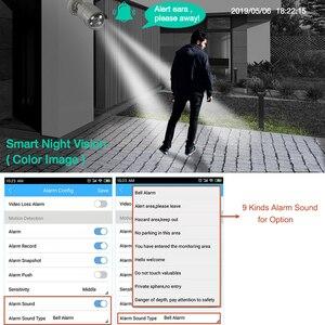 Image 2 - Techage 1080P POE IP Camera 2MP Home Smart AI Camera Outdoor impermeabile sicurezza Video CCTV telecamera di sorveglianza supporto ONVIF