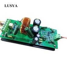 Lusya IRS2092 Class D Amplifier 800W Mono channel High Power Digital Power Amplifier Board T1342 2 channel l15d digital power amplifier irs2092 irfi4019h stero amp diy kit 2 pcs