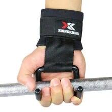 1 шт. ремешок для поднятия Веса перчатки фитнес тренажерный зал обертывание поддержка силовых тренировок