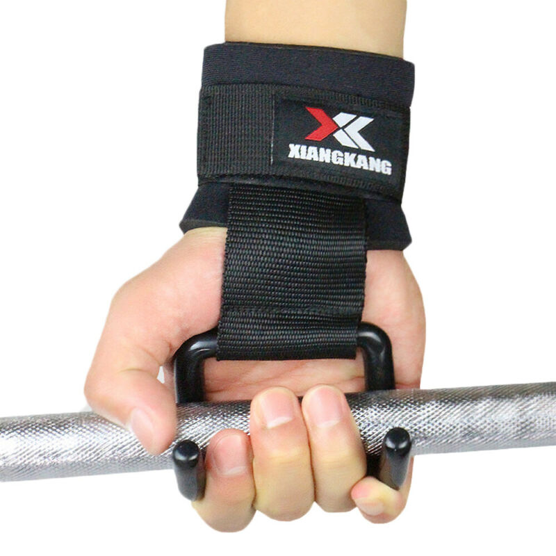 1PC Weight Lifting Straps Glove Fitness Gym Wrap Brace Support Strength Training