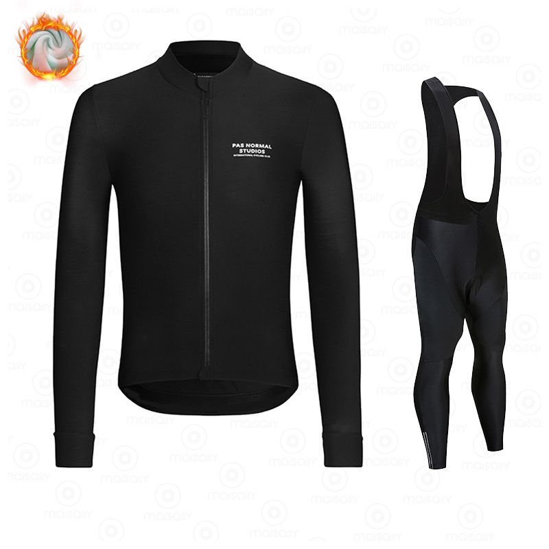 New Winter Fleece 2021 PNS Pro Man Cycling Jersey Mountian Bicycle Clothes Wear Ropa Ciclismo Racing Bike Clothing Cycling suit 2