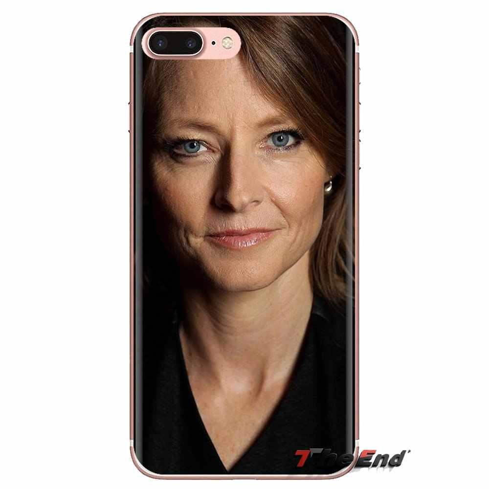 สำหรับ LG SPIRIT Motorola Moto X4 E4 E5 G5 G5S G6 Z Z2 Z3 G2 G3 C Play PLUS MINI โทรศัพท์ครอบคลุม Jodie Foster The SILENCE of the Lambs
