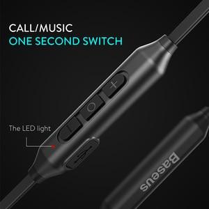 Image 5 - Baseus S06 Neckband Bluetooth אוזניות אלחוטי אוזניות לxiaomi iPhone אוזניות סטריאו auriculares fone דה ouvido עם מיקרופון