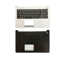 Rosyjski laptop klawiatura do asus X502 X502C X502A X502U X502EI X502X X502CA RU z wielkie litery podpórce pod nadgarstki górna pokrywa w Zamienne klawiatury od Komputer i biuro na