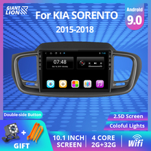 2Din Android 9 0 Car Radio For KIA Sorento 2015-2018 Car Navigation Gps Stereo Multimedia Video Player 2DIN Autoradio DVD Player cheap TIEBRO Double Din 10 1 4*45W Android 8 1 JPEG Plastic + aluminum gold 1024*600 1 85kg Bluetooth Built-in GPS Charger Mobile Phone