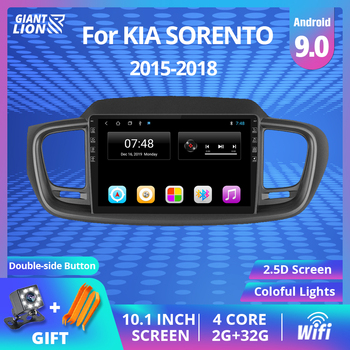 2Din Android 9.0 Car Radio For KIA Sorento 2015-2018 Car Navigation Gps Stereo Multimedia Video Player 2DIN Autoradio DVD Player image