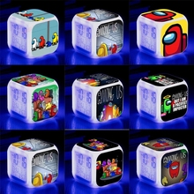 Toys Alarm-Clock Among Us-Game Children Gift for Kids Wake-Up-Light Changing-Table Digital