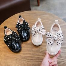 Повседневная детская обувь для девочек и мальчиков; Водонепроницаемая Обувь из искусственной кожи для девочек; обувь принцессы для вечеринок; детская обувь; Размеры 26-36