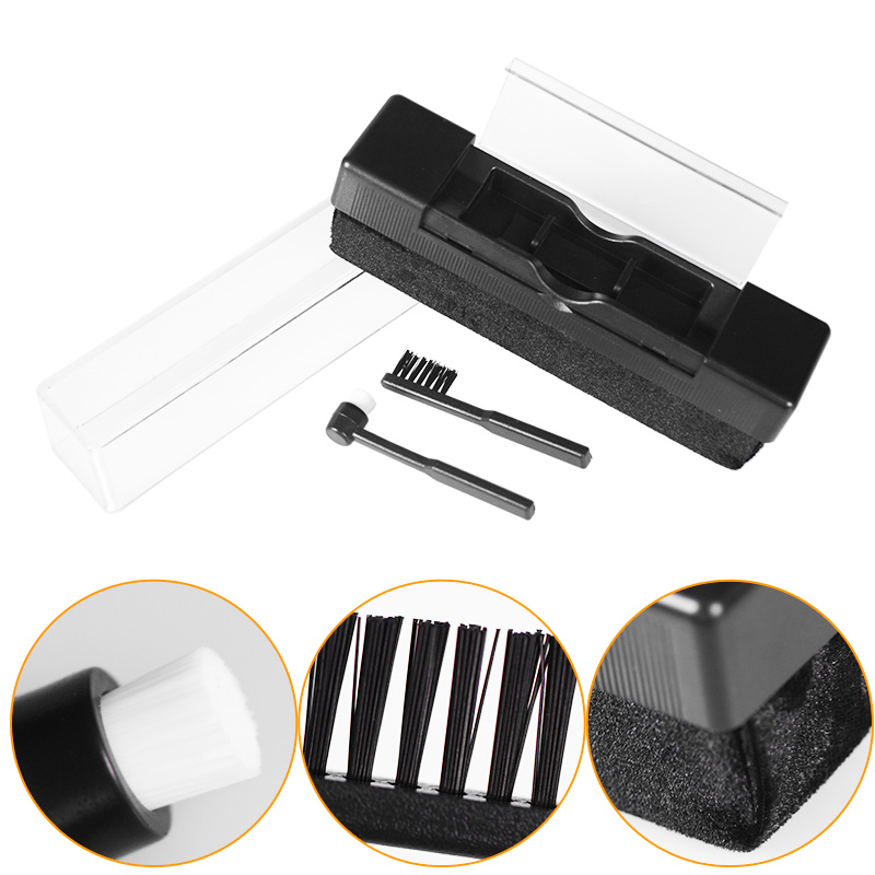 LEORY Combination Vinyl Records Cleaning Kit Turntables Cleaning Kit With Small Brush LP Phonograph Record Cleaning Kit