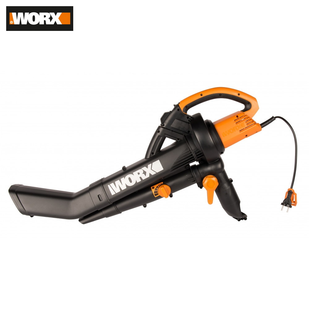 Leaf Blowers & Vacuums WORX WG505E Garden Tools Vacuum Cleaner Compressor Networked