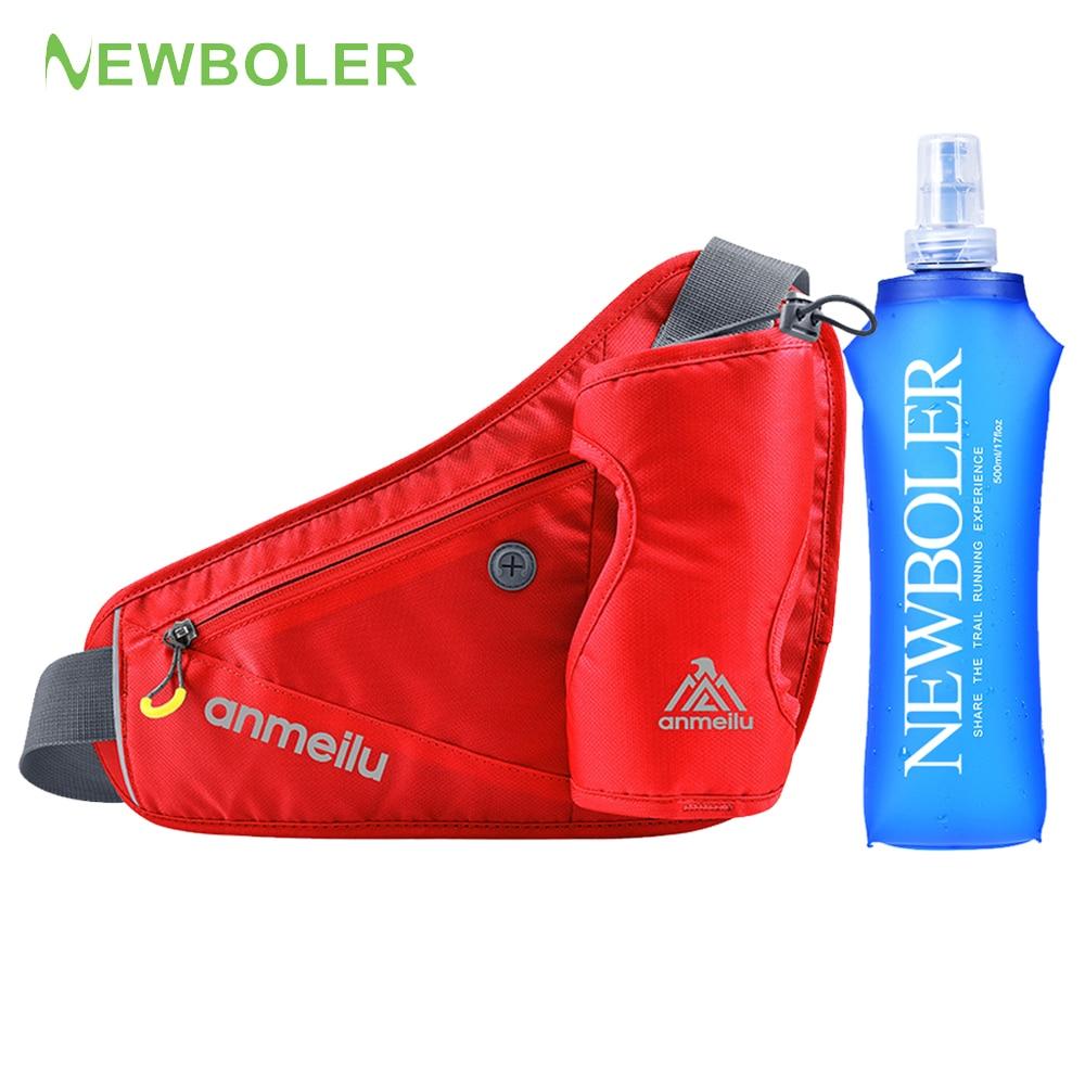 Running  Waist Marathon Bag Sports Hiking Climbing Racing Gym Fitness Lightweight Hydration Belt Water Bottle Hip Waist Pack