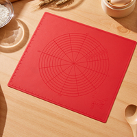 Baking Mat thickening Multi standard And Non screen Printing Scale Silicone Kneading Dough Pad Baking Chopping Board Operation