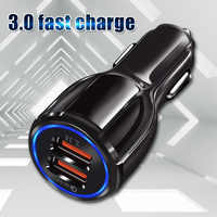 OLAF Quick Charge 3.0 USB Car Charger for iPhone 11 X Samsung Huawei Xiaomi Car Charger QC 3.0 QC 4.0 fast USB Charger Adapter
