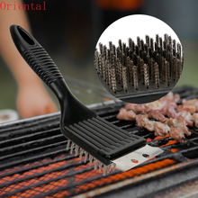 Cooking Tools Wire Bristles Cleaning Brushes Barbecue Grill Brush BBQ Cleaning Tools Outdoor Home BBQ Accessories Durable