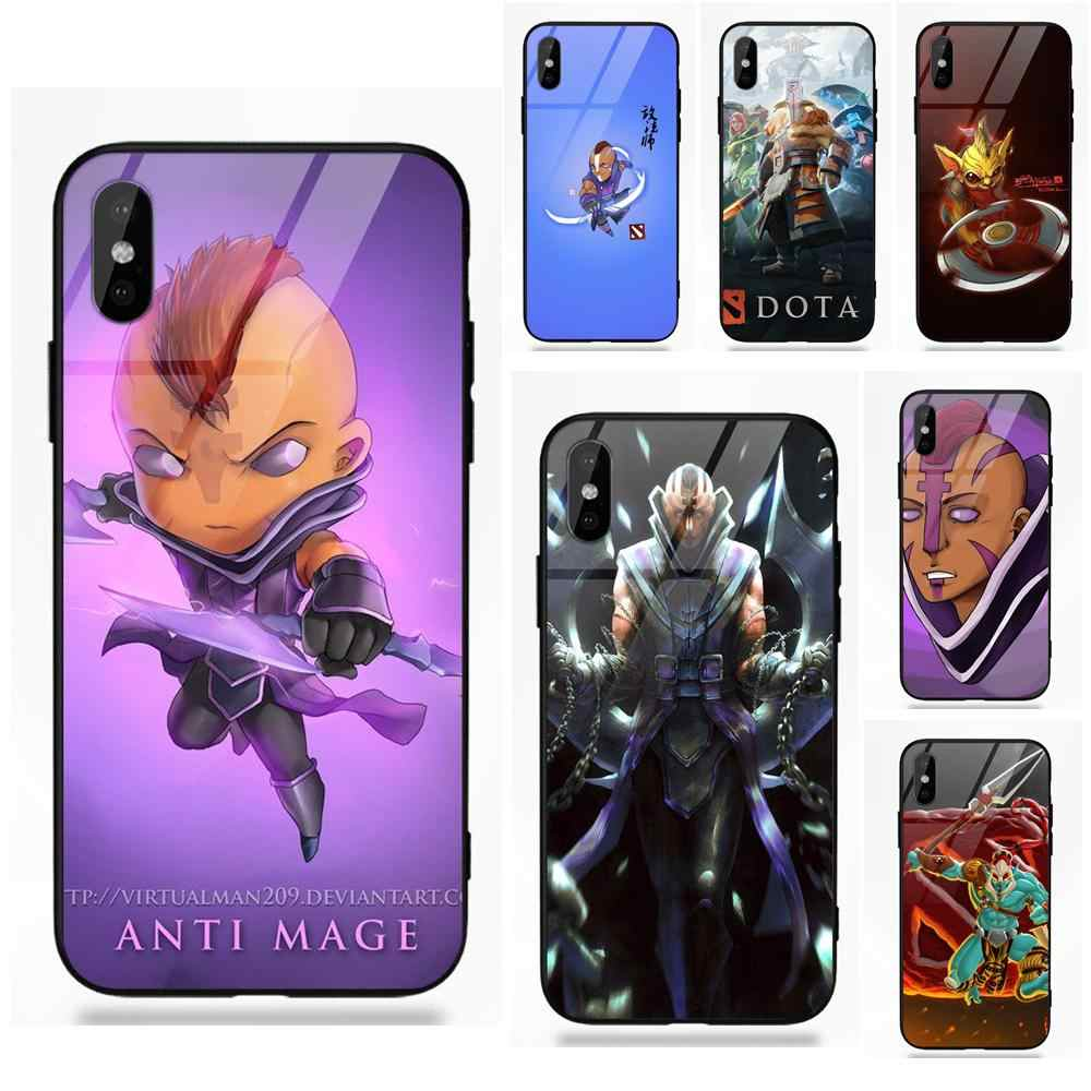 Dota 2 Characters And Their Couriers iphone case