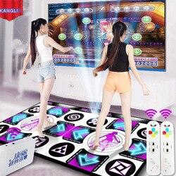 Kl Engels Menu Dance Pads Matten Voor Tv Pc Computer Flash Lichtgeleider Dubbele Dansmat Draadloze Controll Games Yoga matten Fitness
