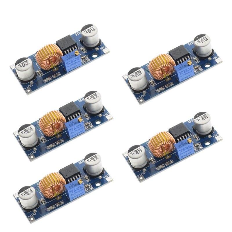 10PCS 5A XL4015 DC-DC Step Down Adjustable 4-38V Power Supply Module LED Lithium