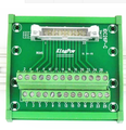 IDC26P IDC 26 Pin Male Connector naar 26 P Klemmenblok Breakout Board Adapter PLC Relais Terminals DIN Rail Montage w. Shell