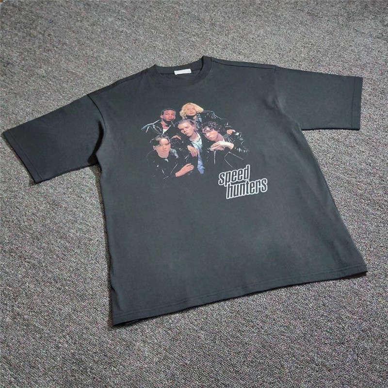 Oversized 18FW SPEEDHUNTERS T-shirt Men Women 1:1 High-Quality Top Tee Streetwear SPEEDHUNTERS T-shirt