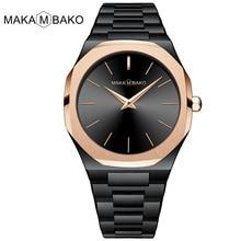 Top Brand Fashion Women Black Rose Watch Luxury Stainless Steel Quartz Watch Ladies Simple Design Waterproof Wristwatches xfcs все цены